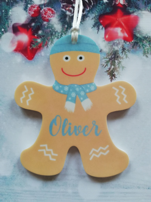 Gingerbread Man  Christmas Ornament Decoration